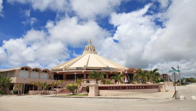 The Santa Barbara Church, in Dededo, as photographed in July 2015.