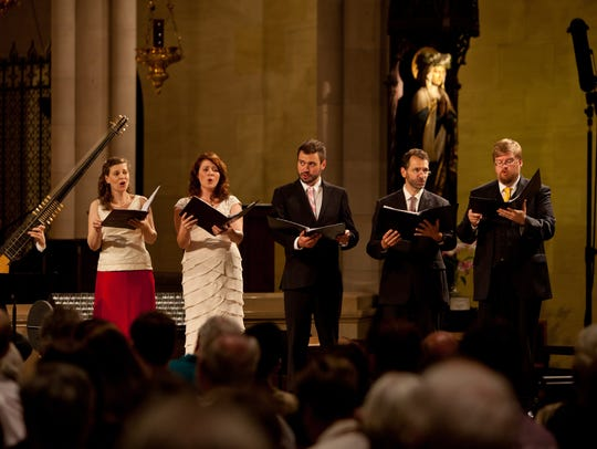 The vocal ensemble brings a program of intimate carols