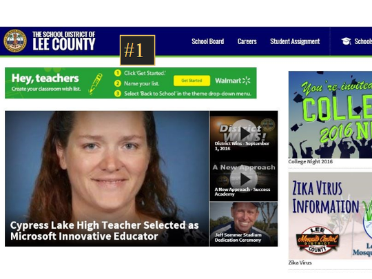 The Lee County school system has already earned $15,000 from the sell of digital ads through their partnership with Tebo & Associates. The company is helping sell naming rights sponsorships and digital ads for the district.