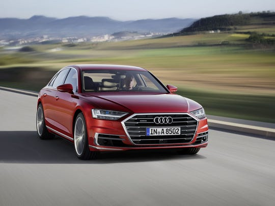 Audi is expected to show a new styling direction with a new A8.