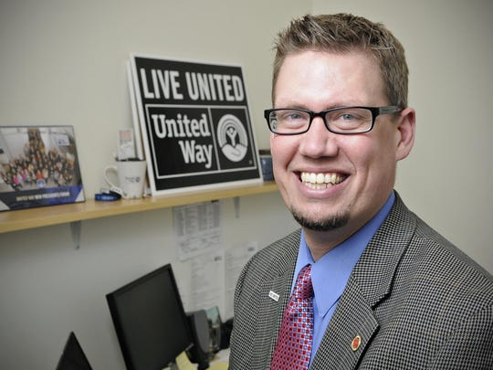 Jon Ruis is the executive director of the United Way