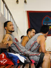 Guam basketball standout Joe Blas signed Thursday to play for the professional Hawke's Bay Hawks in New Zealand for the 2016 season. Blas won a gold medal for Guam at the 2014 Micronesia Games in Pohnpei, pictured, and at the 2015 Pacific Games in Papua New Guinea.