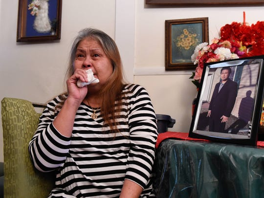 Maria Cristina A. Kurcan on Friday talks about her son, Ian Arias, who committed suicide when he was an inmate at the James T. Vaughn Correctional Center in 2013. Arias' brother and mother filed a federal lawsuit just days before the second anniversary of Arias' death alleging top officials and doctors at several state agencies failed to keep Arias safe.