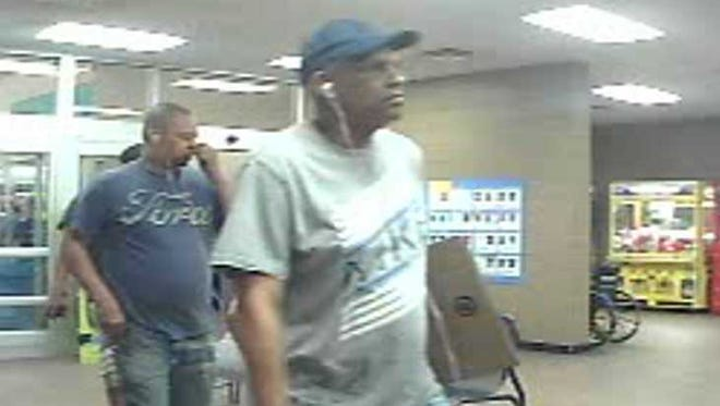 Three male suspects are wanted by the Prattville Police Department after cash was stolen from the registers at the Prattville Walmart in May.