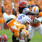 Vols linebacker Jalen Reeves-Maybin makes a tackle against Florida in a 10-9 loss in 2014.