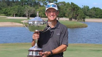 Tallahassee's Robert Bechtol completed his run to the Florida Mid-Amateur title Sunday in Vero Beach.