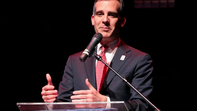 Mayor of Los Angeles Eric Garcetti has a resolution banning official business with the state of Mississippi.