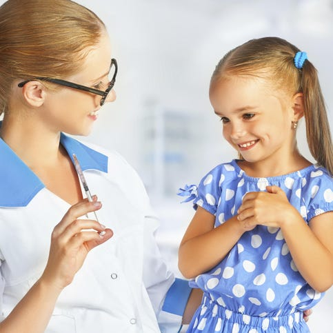 Vaccinations are safe way to develop disease immunity