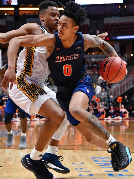 NCAA Basketball: Big West Conference Tournament_Fullerton v. Irvine