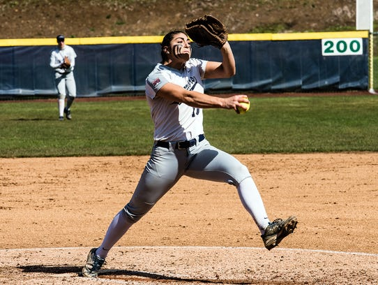 Corban pitcher Sabrina Boyd is 15-5 with a 1.70 earned