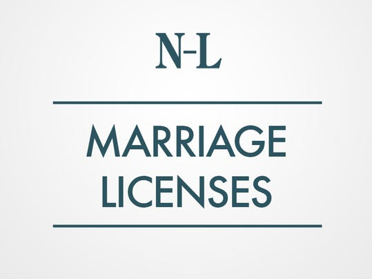 MARRIAGE-LICENSES