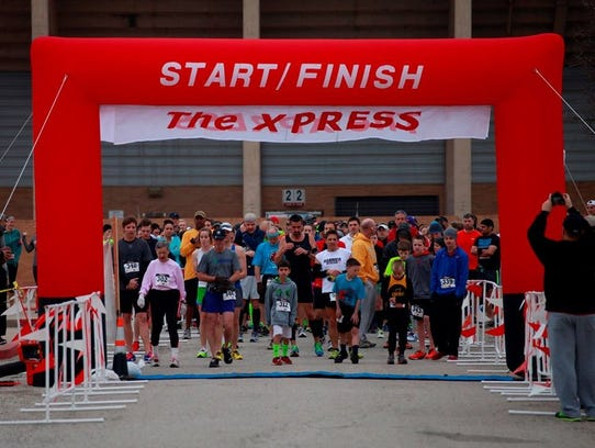 tHE XPRESS half marathon will be 8 a.m. on March 3, with 5K, 12K and half marathon runs. Memorial Stadium East, Southwest Parkway and Barnett Rd.