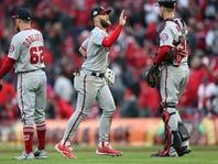 Bryce Harper, Philadelphia Phillies don't visit Cincinnati Reds, GABP until September