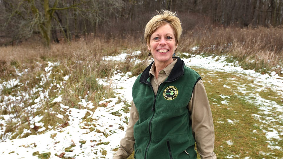 Traci Sincock is the supervisor of Maybury State Park