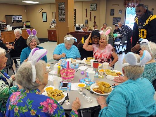 Nighthawks and Seniors Lunch 1