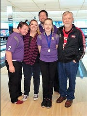 Rick Hitt, far right, with his family, from left, Austin, Nicole, Josh, and Kaylee, in a picture taken several years ago.