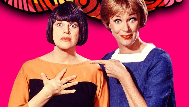 """Kaye Ballard (left) and Eve Arden starred in the 1960s hit sit-com, """"The Mothers-in-Law"""" on NBC-TV."""