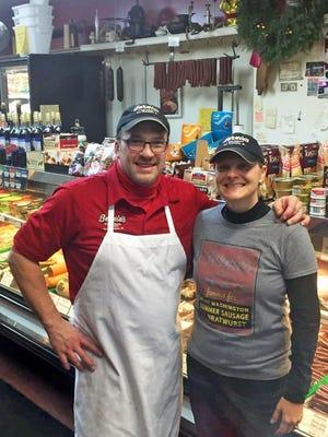 Steve Bennett and his wife, Sandy Jakubczak Bennett, own Bernie's Fine Meats in Port Washington.