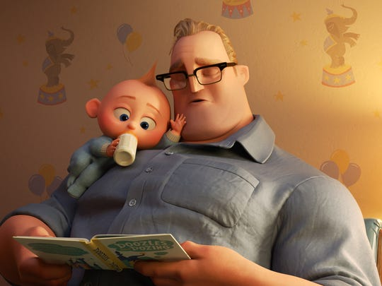"In ""Incredibles 2,"" Bob navigates life at home with the Parr kids while Helen leads a campaign to bring back Supers. But when baby Jack-Jack shows some surprising changes — including the appearance of a few unexpected superpowers — Bob finds that it's challenging to keep up (and awake), even for Mr. Incredible. Featuring Craig T. Nelson as the voice of Bob, Disney-Pixar's ""Incredibles 2"" opens in U.S. theaters on June 15, 2018."
