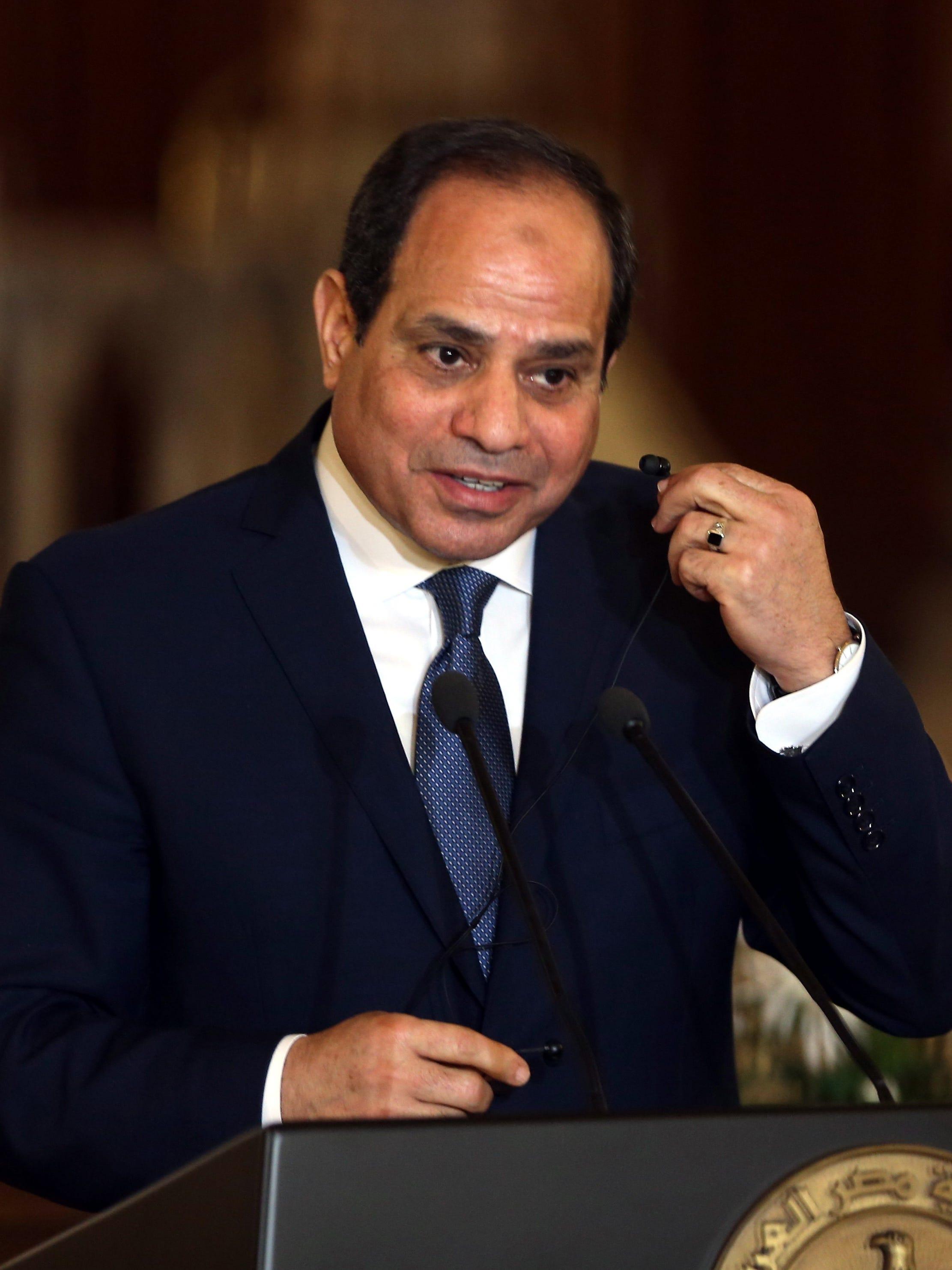 egyptian president abdel fattah el sisi