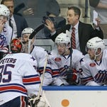 What does the future hold for Amerks coach Chadd Cassidy after the season ends this weekend?
