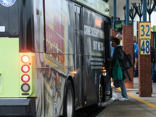 """Escambia County Area Transit held a """"Try Transit Day"""""""