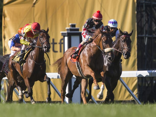 Start of the Winstar Matchmaker Stakes at the 2017
