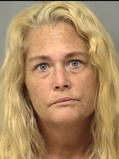 LAURA SHANNON KELLEHER, 40 - Charged with drug selling May 28.