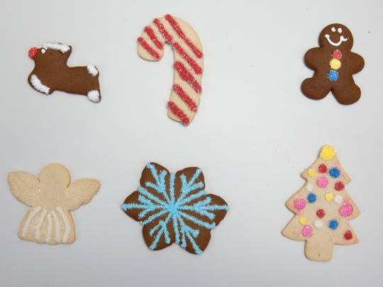 Decorative cookies from The Flaky Tart in Atlantic