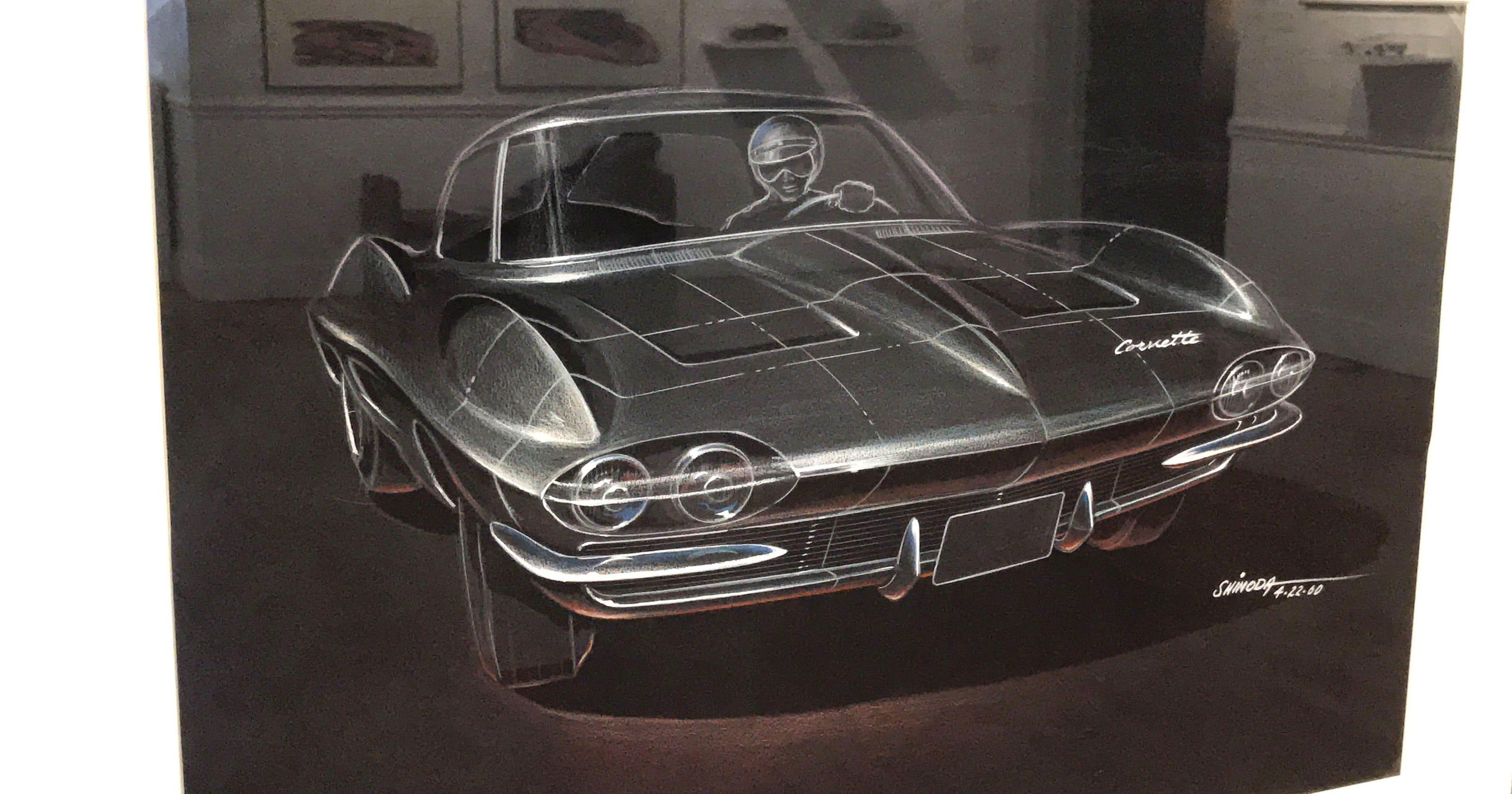 Unique Corvette Designs On Display At Scarab Club 1960 Pontiac Gto Drawings
