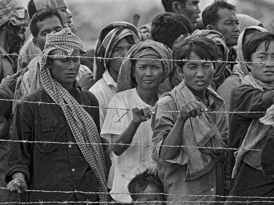 Cambodian refugees made their way to the refugee camps spread along the Thailand/Cambodian border as North Vietnamese army was overthrowing the Khmer Rouge regime that was responsible for the genocide of 1.7 million citizens between 1975 and 1979.  An American emergency room physician from Louisville, Dr. Kenneth Rasmussen joined the International Red Cross and was working in a clinic to help the sick and dying and also provided assistance and counseling for refugees relocating to other countries. He and his wife were also sponsoring a Cambodian family, Sot and Saot Oung and their children resettling in the United States.