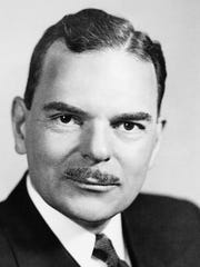 Thomas E. Dewey, New York's 47th governor.