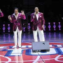 Four Tops at Detroit auto show Charity Preview