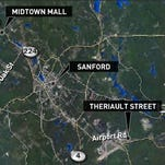Two men arrested in two separate MDEA investigations Thursday in Sanford, Maine.
