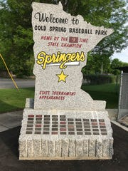 The Springers have a monument noting their numerous