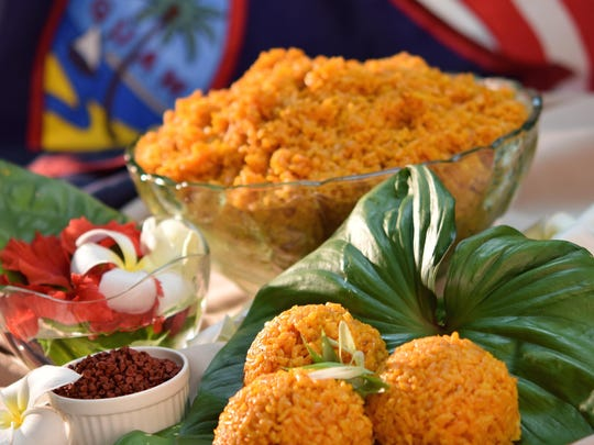 None of Guam's foods signify a special occasion as