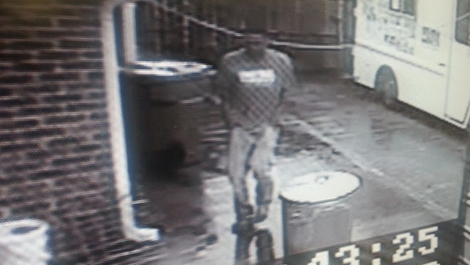 Surveillance recorded suspects in connection with a burglary March 28.