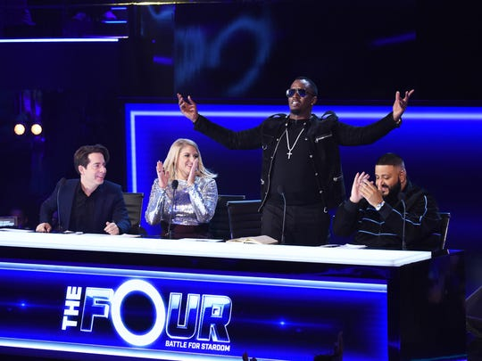 "Judges on ""The Four: Battle for Stardom,"" from left:"