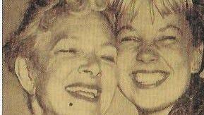 Helen Hayes and Joyce.