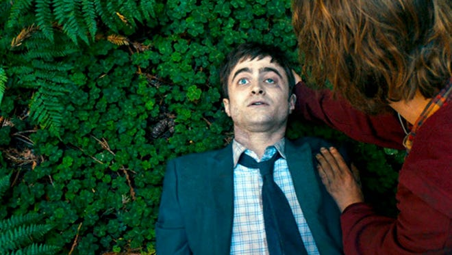 """Daniel Radcliffe plays a corpse that occasionally talks in the comedy """"Swiss Army Man."""""""