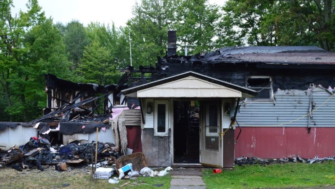 At about 8:15 a.m. on Saturday, Aug. 26, several Fire Department and Law Enforcement personnel responded to a residential fire on East Tower Road in the town of Easton. No one was home at the time of the fire, but the home was not insured, and is a total loss.