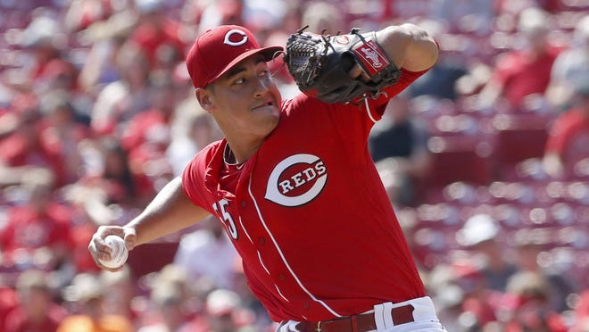 Robert Stephenson followed fellow rookie Sal Romano's eight-inning shutout performance Saturday with one of his own Sunday. Stephenson pitched six innings, allowing no runs on one hit in the Reds' 5-2 victory for a three-game series sweep.