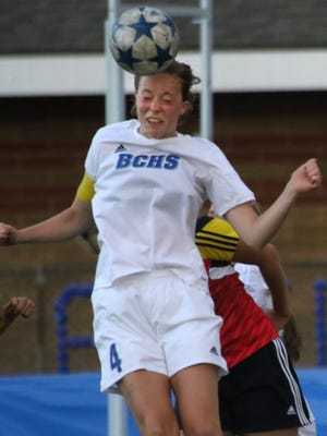 Brookfield Central's Claire Haynes, shown in a game last June, is among the region's top players this year.