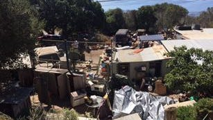 Children were rescued from living in deplorable conditions at a property on Elkhorn Road Wednesday