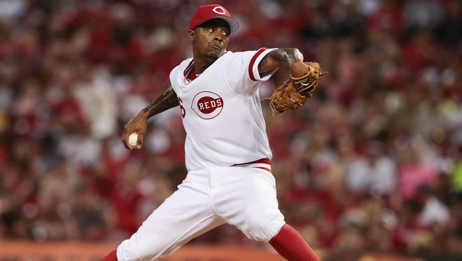 The Reds are still being cautious with Raisel Iglesias.