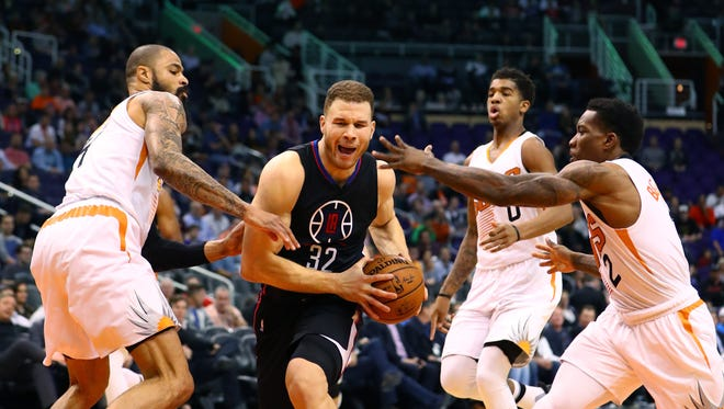 Los Angeles Clippers forward Blake Griffin is set to visit the Suns.