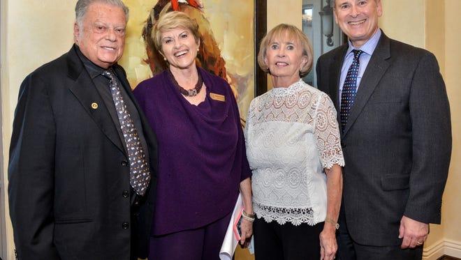 Harold Matzner, Barbara Klein, Linda Weakley and Mitch Gershenfeld.