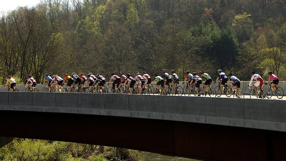 Hundreds of riders are expected at the Burnsville Metric Bike Ride April 29 in Yancey County.