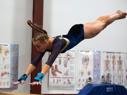 Essex vs. CVU Gymnastics 01/16/15