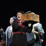 """Hey, lady, what's in the box? McKenna Milici plays a character who carries around a lot of extra baggage in """"Postcard From Morocco,"""" running Friday and Saturday at FSU."""